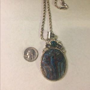 Jewelry - ‼️FINAL PRICE‼️Colorful Stone Pendant Necklace